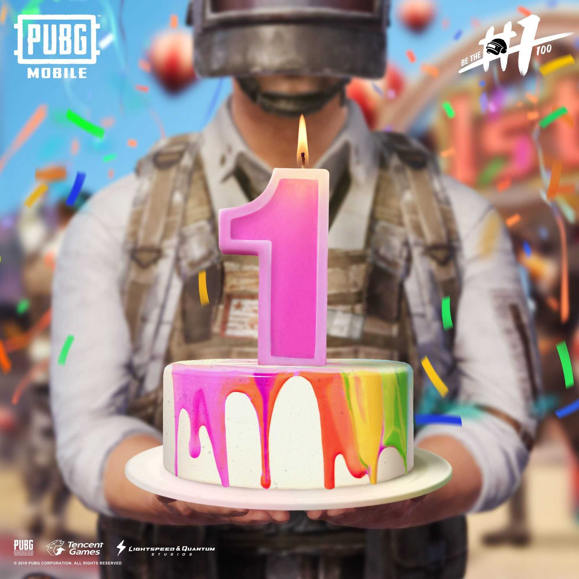 On the Holi, Pubg Mobile completes a year
